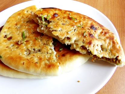 Picture of Keema Naan