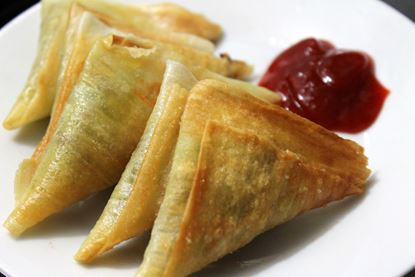 Picture of Samosa (Meat c( Vegetable).